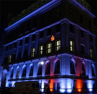 Architektur Licht Lichteffekte mieten