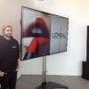 Flachbildschirm ausleihen Verleih mieten flat screen