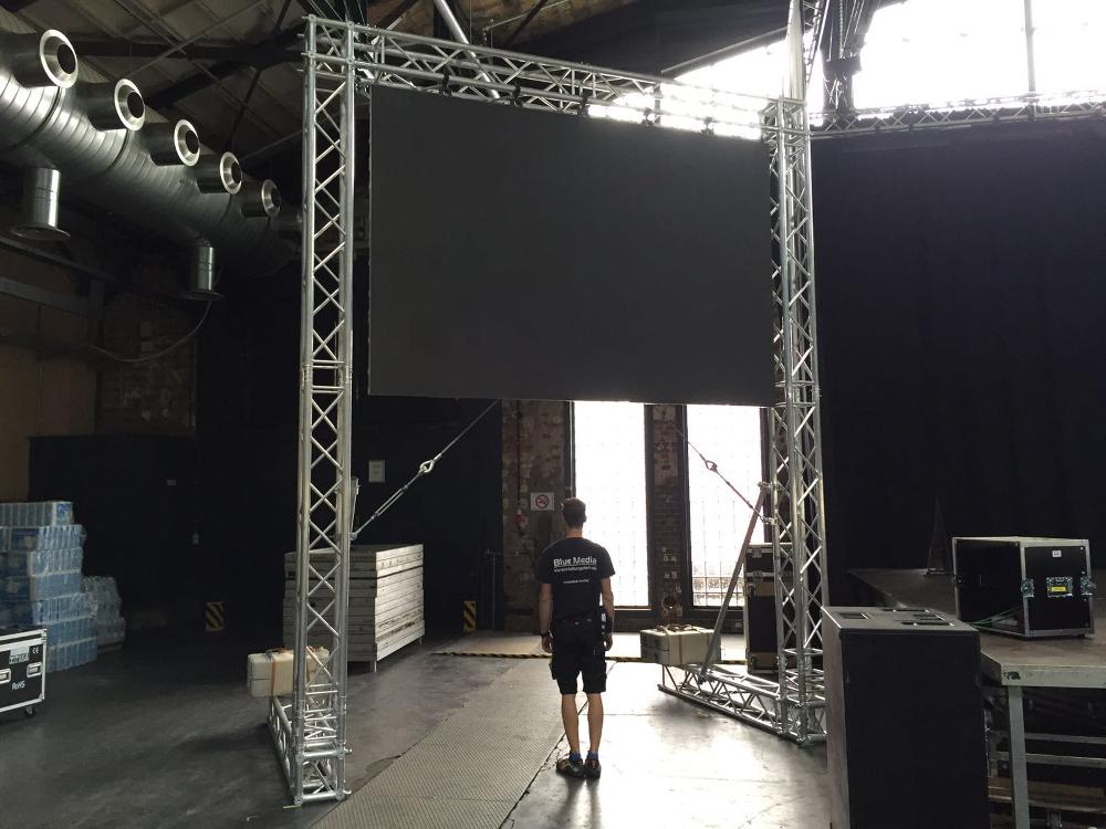 LED Videowand Video-Leinwand Berlin mieten Verleih ausleihen Miete Leihe rent rental