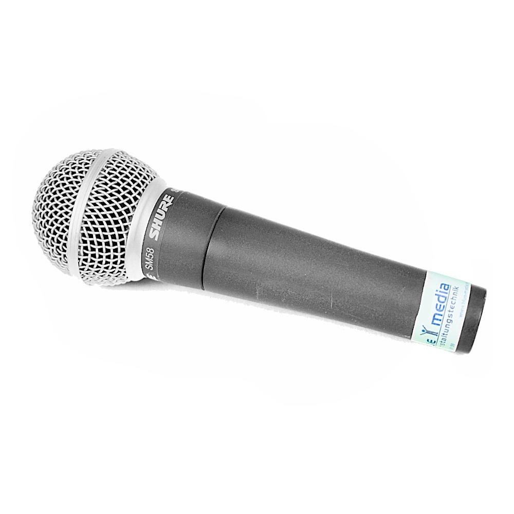 mikrofon shure ausleihen Verleih Berlin
