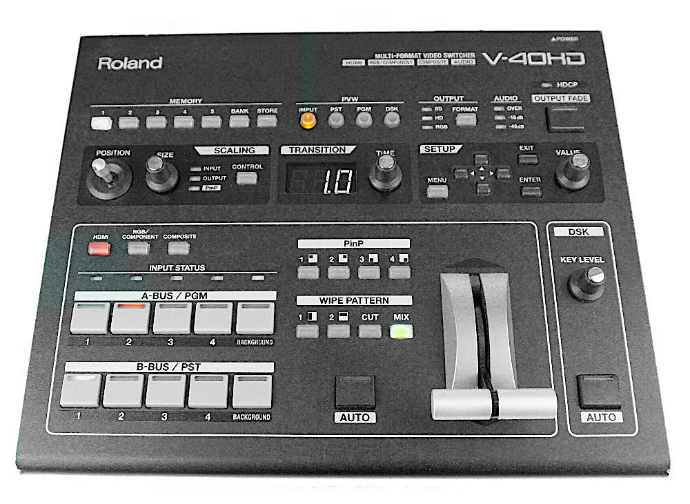 Videomischpult Roland V40 mieten Verleih Berlin ausleihen