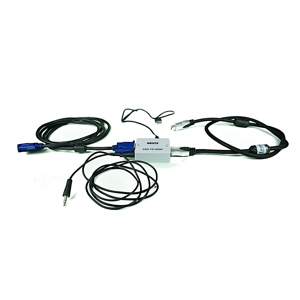 adapter HDMI VGA mieten Berlin ausleihen