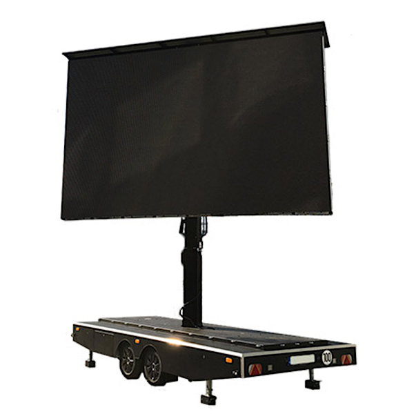 LED Wand Trailer Verleih Berlin