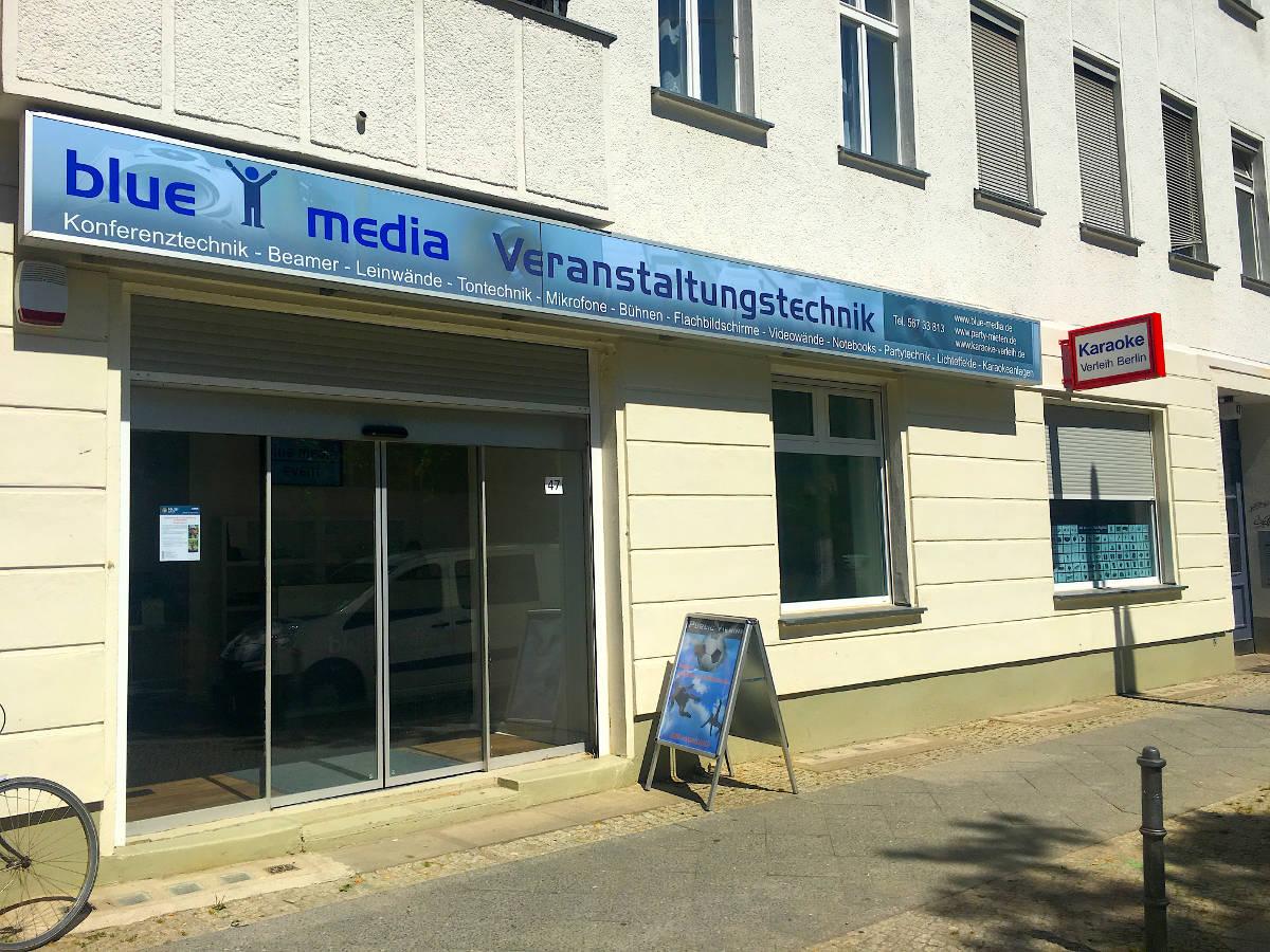 Partytechnik mieten Berlin Verleih ausleihen Tontechnik Miete