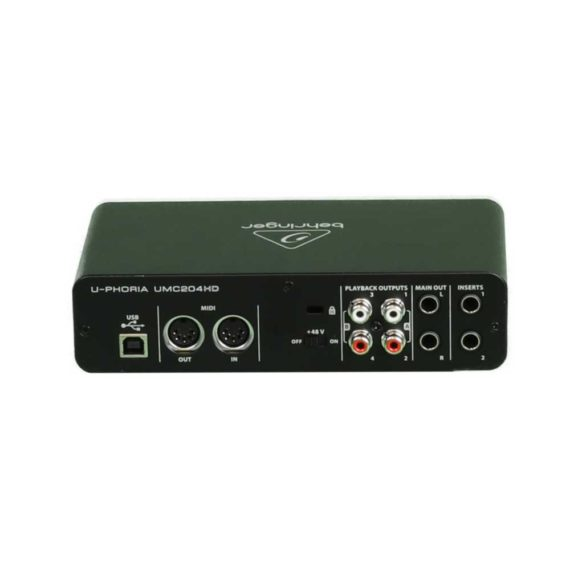 Audio Interface Behringer U-Phoria UMC204HD mieten Berlin